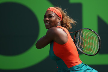 Serena Williams Sony Ericsson Open: Day 8