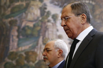 Sergei Lavrov Russian and Turkish Foreign Ministers Meet in Moscow