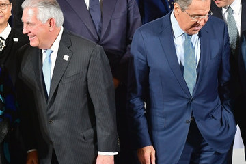 Sergei Lavrov G20 Foreign Ministers Meet In Bonn
