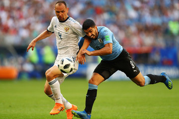 Sergey Ignashevich Uruguay Vs. Russia: Group A - 2018 FIFA World Cup Russia