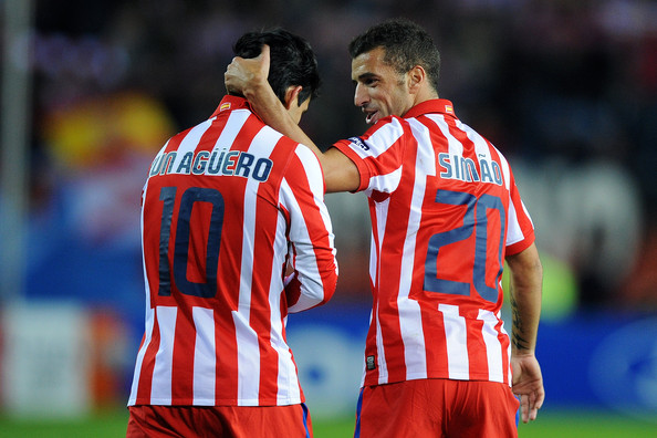 the latest f9b29 178a5 Sergio Aguero Photos Photos - Atletico Madrid v Chelsea ...