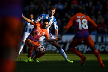Sergio Aguero Huddersfield Town v Manchester City - The Emirates FA Cup Fifth Round