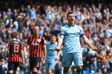 Sergio Aguero European Best Pictures of the Day - May 10, 2015