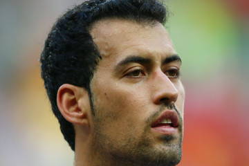 Sergio Busquets Spain v Netherlands: Group B