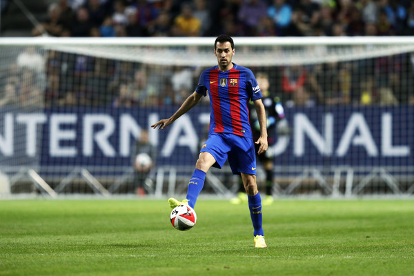 Image result for sergio Busquets 2016-17