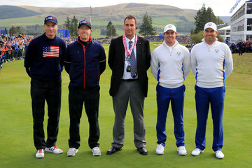 Sergio Garcia Rory McIlroy Afternoon Foursomes - 2014 Ryder Cup