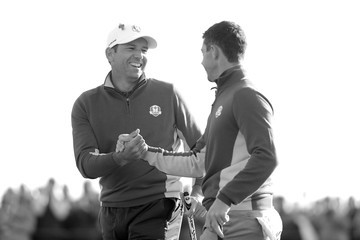 Sergio Garcia Rory McIlroy 2018 Ryder Cup - Morning Fourball Matches