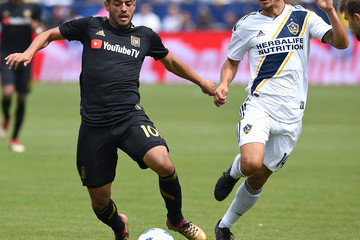 Servando Carrasco Los Angeles FC vs. Los Angeles Galaxy