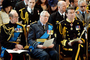 (L-R)  Prince Edward, Duke of Kent, Prince Richard, Duke of Gloucester and Vice Admiral Sir Timothy Laurence attend a Service of Commemoration for troops who were stationed in Afghanistan at St Paul's Cathedral on March 13, 2015 in London, England.