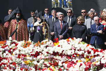 Serzh Sargsyan 100 Lives in Armenia - April 24 Daytime Events