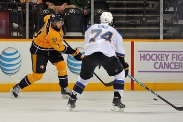 Seth Jones St Louis Blues v Nashville Predators
