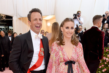Seth Meyers Alexi Ashe The 2019 Met Gala Celebrating Camp: Notes On Fashion - Arrivals