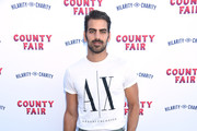 Nyle DiMarco attends Hilarity For Charity's County Fair hosted by Seth Rogen & Lauren Miller Rogen at The Row on September 14, 2019 in Los Angeles, California.