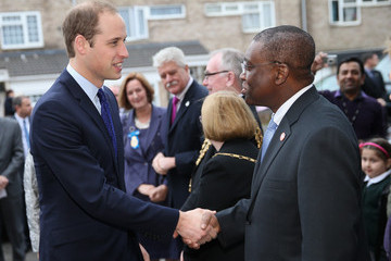 Seyi Obakin The Duke Of Cambridge Visits Birmingham