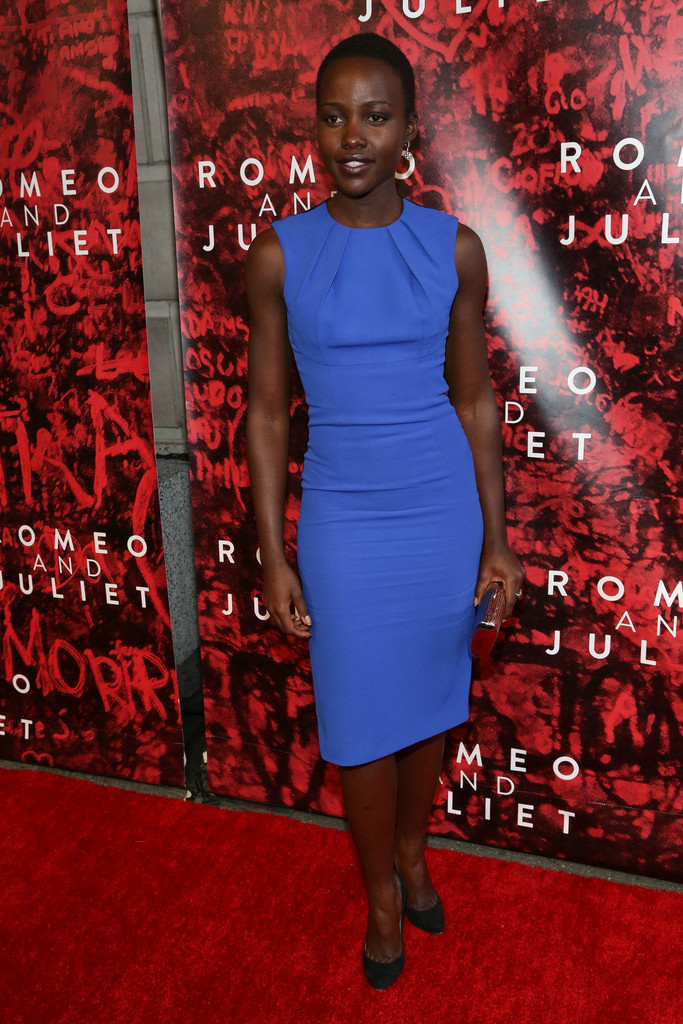 "Lupita Nyong&squot;o attends ""Shakespeare&squot;s Romeo And Juliet"" Broadway opening night at The Richard Rogers Theater on September 19, 2013 in New York City."