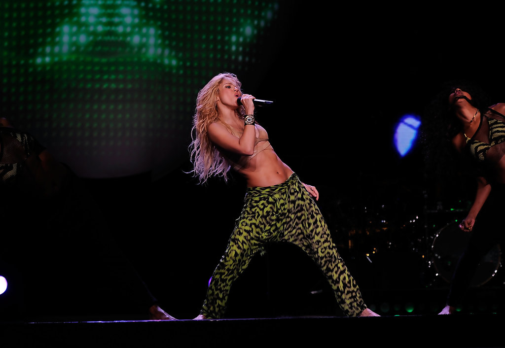 Shakira Photos Photos Shakira In Concert At Madison Square