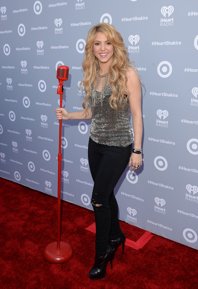 Shakira - Target Presents The iHeartRadio Album Release Party For Shakira's Exclusive Deluxe Edition