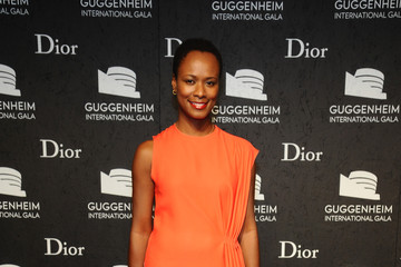 Shala Monroque Arrivals at the Guggenheim International Gala