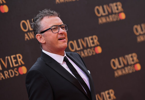 The Olivier Awards With Mastercard - VIP Arrivals [spokesperson,premiere,speech,event,carpet,flooring,brand,suit,public speaking,arrivals,shane richie,olivier awards,london,england,royal albert hall,mastercard,vip]