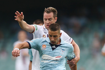 Shane Smeltz A-League Rd 19 - Sydney v Perth