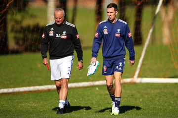 Shane Smeltz Sydney FC Training Session