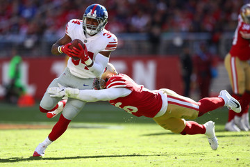 Shane Vereen New York Giants v San Francisco 49ers