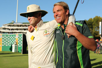 Shane Warne South Africa v Australia - 3rd Test: Day 5