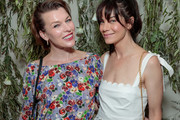 Actors Milla Jovovich and Michelle Monaghan attend the Shani Darden Studio opening on June 06, 2019 in Beverly Hills, California.