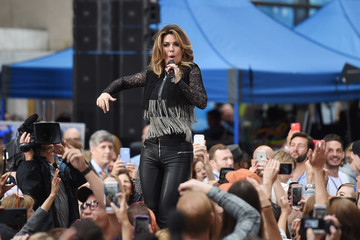Shania Twain Shania Twain Performs on NBC's 'Today'