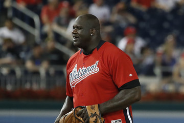 Shaquille O'Neal Legends And Celebrity Softball Game