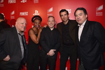 "Sharlto Copley PlayStation & Sony Pictures Television Series Premiere Of ""POWERS"" - Red Carpet"