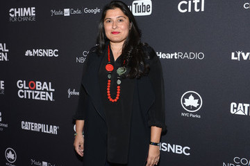 Sharmeen Obaid-Chinoy 2016 Global Citizen Festival in Central Park to End Extreme Poverty by 2030 - VIP Lounge