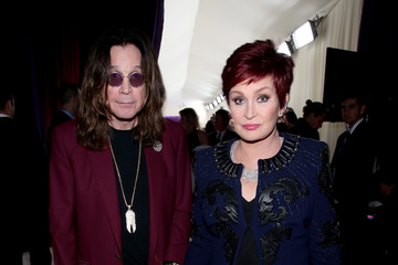 Sharon Osbourne Arrivals at the Elton John AIDS Foundation Oscars Viewing Party — Part 2