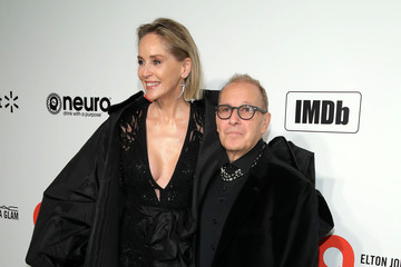 Sharon Stone 28th Annual Elton John AIDS Foundation Academy Awards Viewing Party Sponsored By IMDb, Neuro Drinks And Walmart - Arrivals