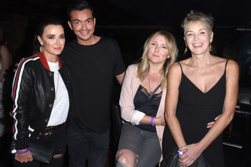 Sharon Stone Sandals Resorts Hosts Private Event at Hyde Staples Center for Ed Sheeran Concert