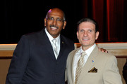 Republican National Committee Chairman Michael Steele (L) poses for photos with U.S. Republican Congressional candidate Dr. Joe Heck during the Nevada Republican Party 2010 State Convention at the Green Valley Ranch Station Casino July 9, 2010 in Henderson, Nevada. The embattled GOP chairman is making one of his first public appearances after his controversial remarks about the war in Afghanistan. Heck will face U.S. Rep. Dina Titus (D-NV) in the general election in November.