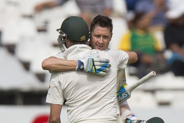 Shaun Marsh South Africa v Australia - 3rd Test: Day 2