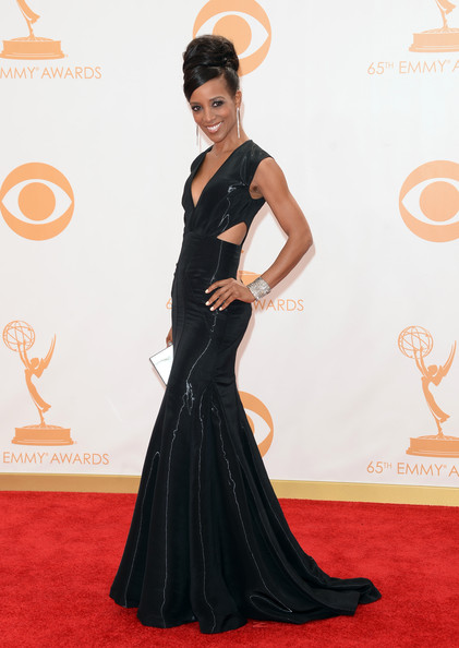 Shaun Robinson - Arrivals at the 65th Annual Primetime Emmy Awards — Part 5
