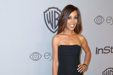 Shaun Robinson The 2018 InStyle and Warner Bros. 75th Annual Golden Globe Awards Post-Party - Red Carpet