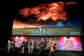 Shawn Levy 'Stranger Things 2' Panel At Netflix FYSEE
