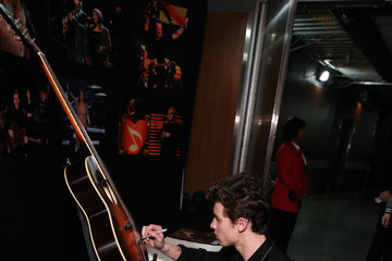 Shawn Mendes 61st Annual GRAMMY Awards - GRAMMY Charities Signings - Day 3