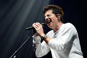Shawn Mendes Performs With Charlie Puth in Concert - Brooklyn, New York
