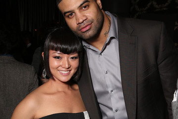 Shawne Merriman Kiki Sukezane DailyMail's After Party for 2016 People's Choice Awards - Inside