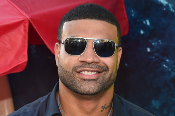 Shawne Merriman Warner Bros. Pictures And Gravity Pictures' Premiere Of 'The Meg' - Red Carpet