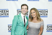 Michael Urie and Vanessa Williams attend Sheen Center presents Vanessa Williams & Friends: thankful for Christmas with guests Norm Lewis, Michael Urie, and Bernie Williams at Sheen Center for Thought & Culture on November 18, 2019 in New York City.