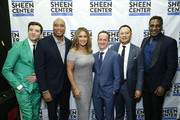 Michael Urie, Bernie Williams, Vanessa Williams, David Di Certo, David Fontanilla and Norm Lewis attends Sheen Center presents Vanessa Williams & Friends: thankful for Christmas with guests Norm Lewis, Michael Urie, and Bernie Williams at Sheen Center for Thought & Culture on November 18, 2019 in New York City.