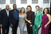 (L_R) Bernie Williams, Norm Lewis, Vanessa Williams, Frank Shiner, Michael Urie and Shelley Thomas-.Harts attend Sheen Center presents Vanessa Williams & Friends: thankful for Christmas with guests Norm Lewis, Michael Urie, and Bernie Williams at Sheen Center for Thought & Culture on November 18, 2019 in New York City.