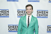 Michael Urie attends Sheen Center presents Vanessa Williams & Friends: thankful for Christmas with guests Norm Lewis, Michael Urie, and Bernie Williams at Sheen Center for Thought & Culture on November 18, 2019 in New York City.