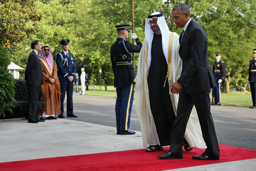 Sheikh Mohamed bin Zayed Al Nahyan President Obama Welcomes Leaders and Delegations From The Gulf Cooperation Council