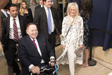 Sheldon Adelson U.S. Embassy Formally Opens In Jerusalem On 70th Anniversary Of State Of Israel